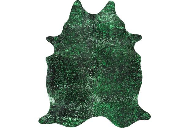 Luxor Living Rinderfell Pop Art grün 3-5m² 3-5 qm