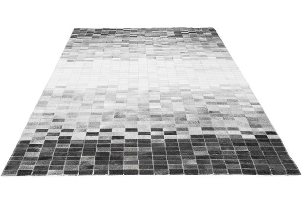 Luxor Living Rinderfellteppich Porto Alegre. grau 120 cm x 180 cm