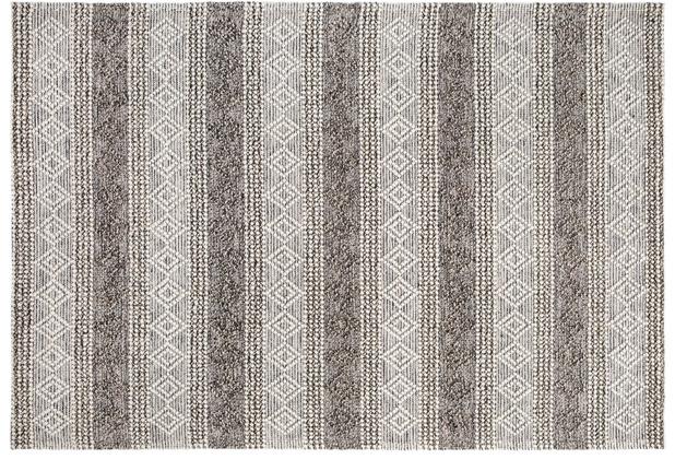 Luxor Living Teppich Aalborg silber grau 130x190
