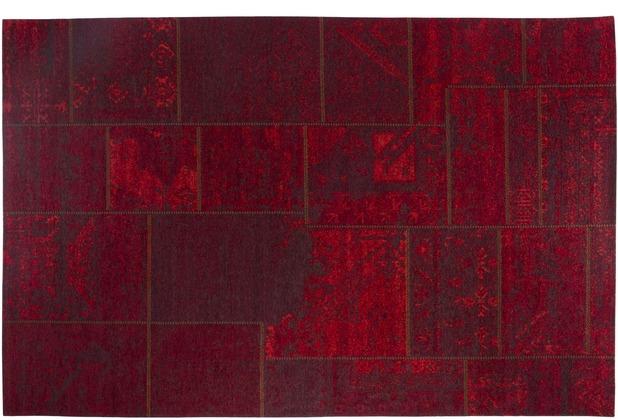 Luxor Living Vintage Teppich Barock Rot Hertie De
