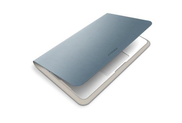 """Macally AIRFOLIO für MacBook Air 13\"""", Silber"""
