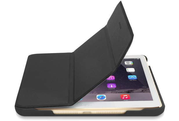 Macally Bookstand mini 4G, Hülle für iPad mini 4G, Grau