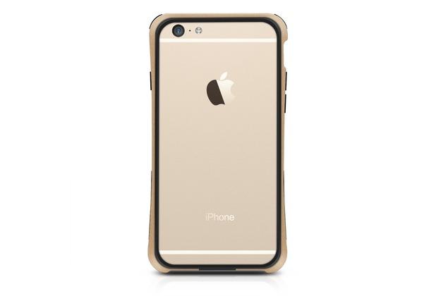 Macally IronRim, Kantenschutz für iPhone 6, Champagner