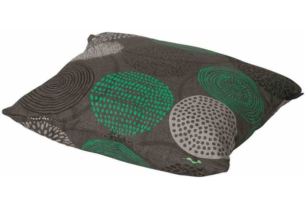 MADISON Fantasy grün Zierkissen 45x45 cm Bezugsmaterial aus 50% Baumwolle/ 50% Polyester