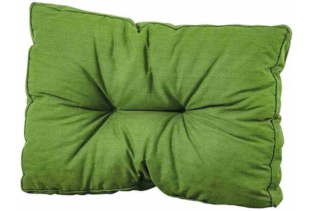 MADISON Paletten-Rückenkissen Basic, grün 50% Baumwolle / 50% Polyester