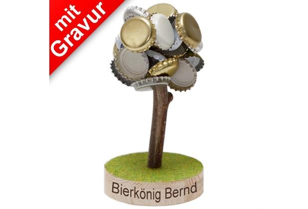 Mags Bierbaum magnetisch MIT GRAVUR (z.B. Namen)