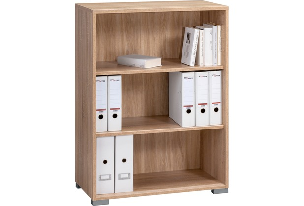 MAJA Möbel Aktenregal Sonoma-Eiche offen 800 x 1097 x 400 mm