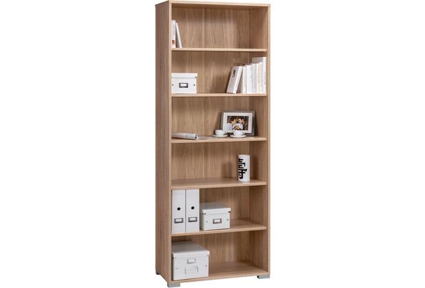 MAJA Möbel Aktenregal Sonoma-Eiche 800 x 2144 x 400 mm