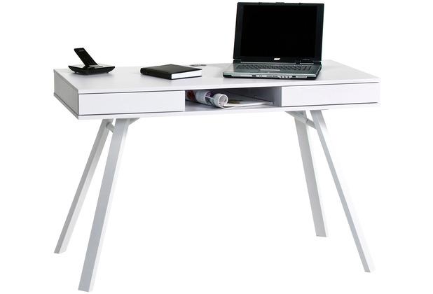 MAJA Möbel Schreib- und Computertisch Icy-weiß 1200 x 780 x 640 mm
