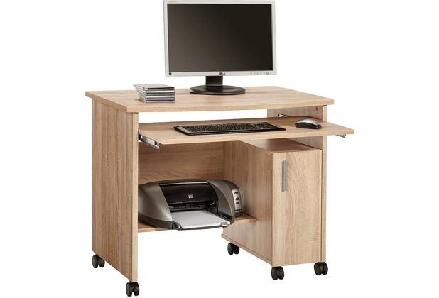 MAJA Möbel Schreib- und Computertisch Sonoma-Eiche 940 x 770 x 600 mm