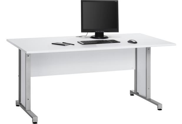 MAJA Möbel Schreibtisch System Sets Icy-weiß Typ I 160 cm