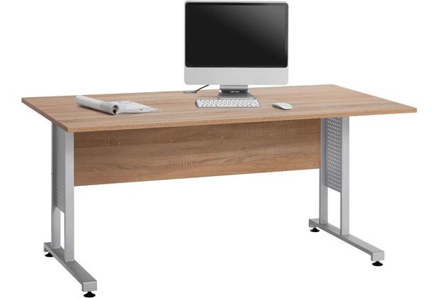 MAJA Möbel Schreibtisch System Sets Sonoma-Eiche Typ II 160 cm
