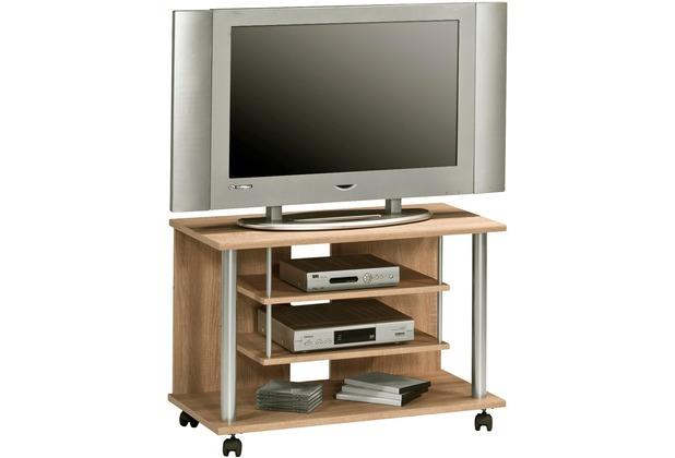MAJA Möbel TV-Rack MEDIA MODELLE HOLZ Sonoma-Eiche 80 x 54,5 x 40 cm