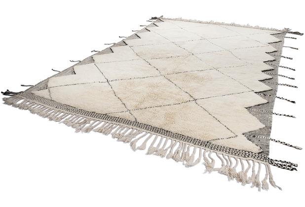Tuaroc Teppich Beni Ourain #KK378 #KK378 beige / brown 242 x 373 cm