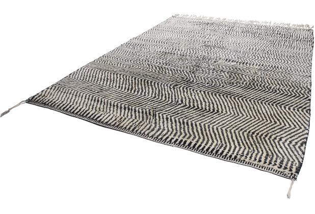 Tuaroc Teppich Beni Ourain #RR656 #RR656 black / cream 255 x 320 cm