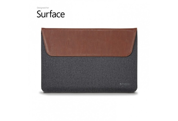 maroo Sleeve Microsoft Surface Pro / Surface Laptop 13,5 brown/black MR-MS3307
