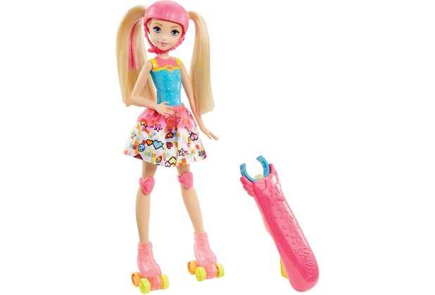 Barbie Videospiel-Heldin Rollschuh-Fahrerin