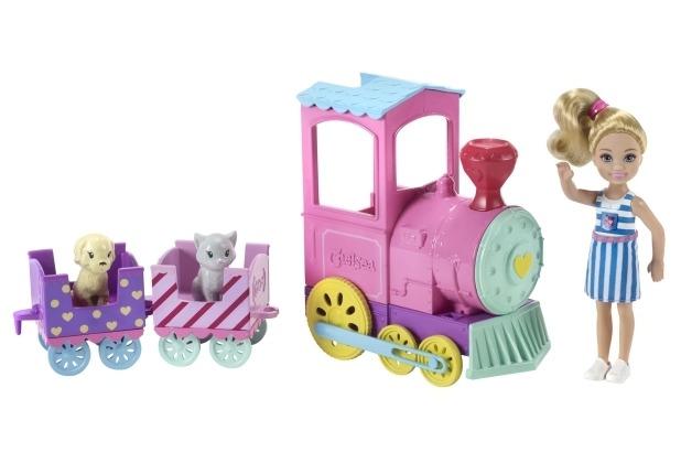 Barbie Barbie Chelsea Abenteuerzug und Puppe