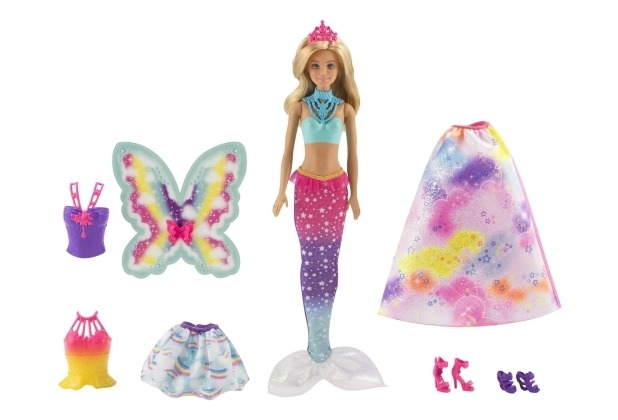 Barbie Barbie Dreamtopia 3 in 1 Fantasie Puppe