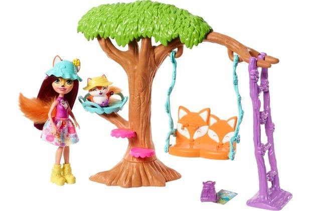 Mattel Enchantimals Felicity FoJa und Flick Spi