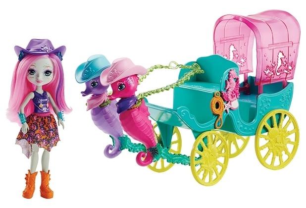Mattel Enchantimals Seepferdchen-Kutsche