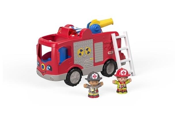 Mattel Fisher Price Little People Feuerwehr