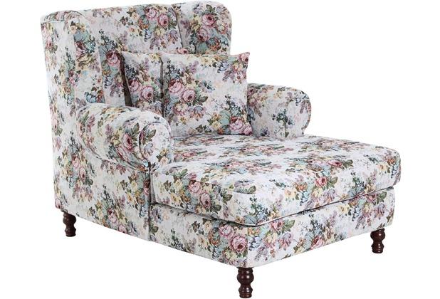 Max Winzer Big-Sessel inkl. 2x Zierkissen 55x55cm + 40x40cm Mareille Flachgewebe rosé 103 x 149 x 103