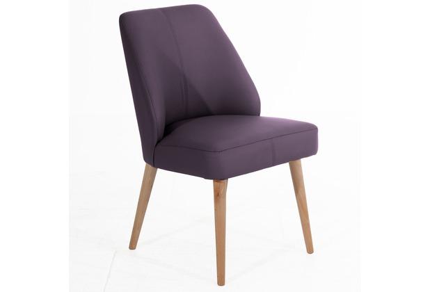 Max Winzer Esszimmersessel violett 52  x  60  x  91