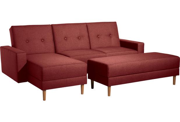 Max Winzer Funktionssofa Just Cool Rot Just Cool Flachgewebe rot 230 x 152 x 93