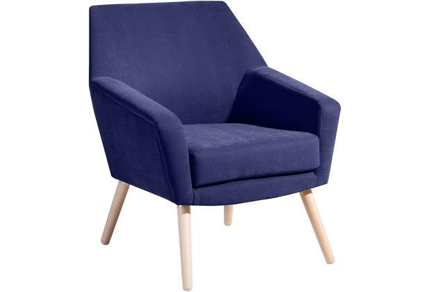 Max Winzer Sessel blau 67  x  71  x  81