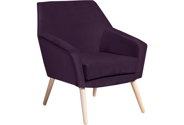Max Winzer Sessel purple 67 x 71 x 81