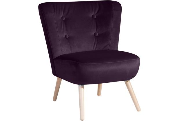 Max Winzer Sessel purple 69  x  68  x  80