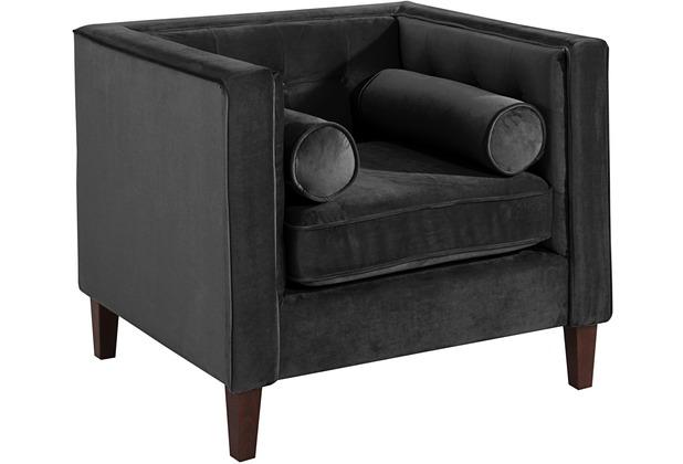 Max Winzer Sessel schwarz 99 x 85 x 80