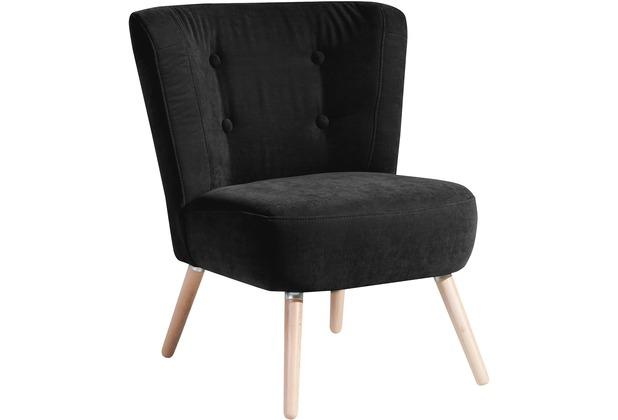 Max Winzer Sessel schwarz 69 x 68 x 80