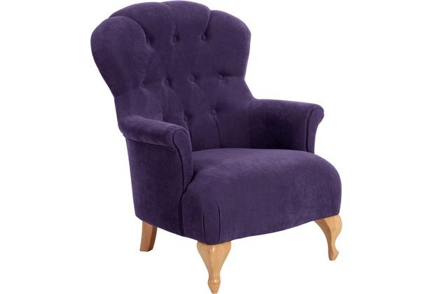 Max Winzer Sessel violett 77 x 83 x 101