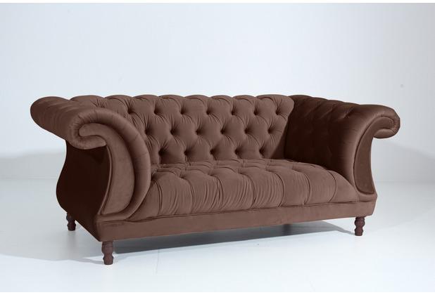 Max Winzer Sofa 2 Sitzer braun 200 x 100 x 80