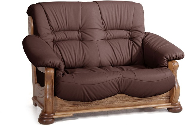 Max Winzer Sofa 2-Sitzer burgund 148 x 95 x 95