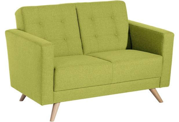 Max Winzer Sofa 2-Sitzer Julian Flachgewebe apfel 128 x 83 x 81