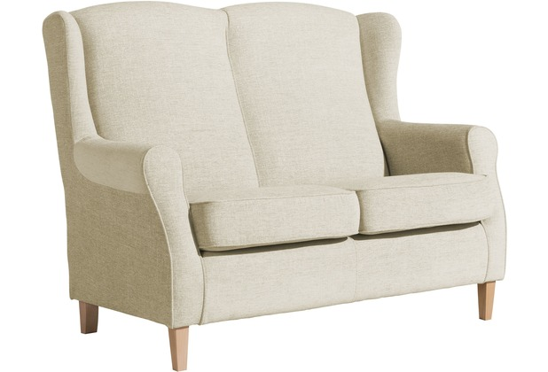 Max Winzer Sofa 2-Sitzer Lorris Chenille beige 139 x 86 x 103