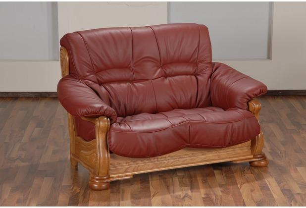 Max Winzer Sofa 2-Sitzer rot 148 x 95 x 95