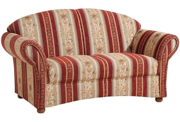 Max Winzer Sofa 2-Sitzer rot 151 x 86 x 83