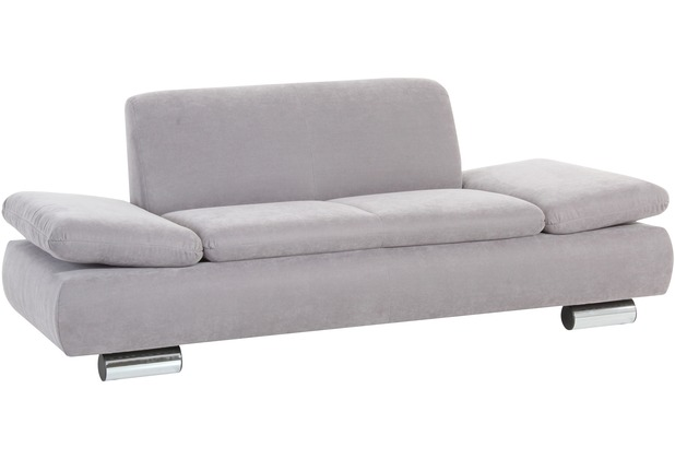 Max Winzer Sofa 2 Sitzer silber 190 x 90 x 76