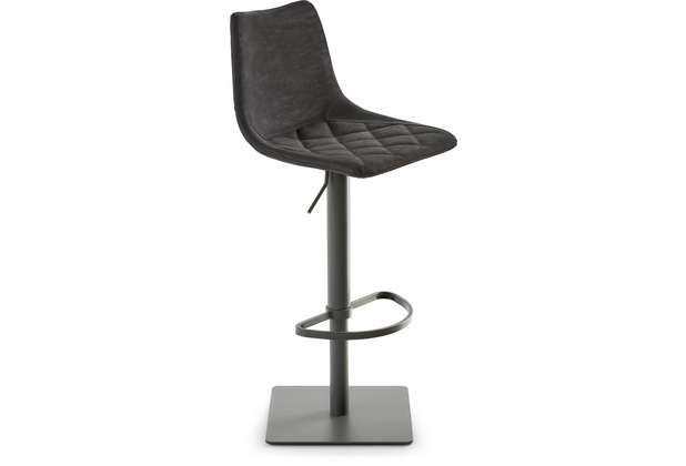 Mayer Sitzmöbel Bar- und Tresenhocker myTOBY schwarz grau