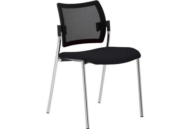 Mayer Sitzmöbel Stapelstuhl myCHOICE schwarz