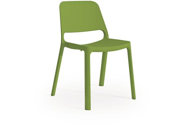 Mayer Sitzmöbel Stapelstuhl myNUKE grasgrün