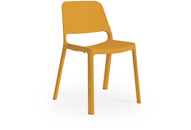 Mayer Sitzmöbel Stapelstuhl myNUKE orange