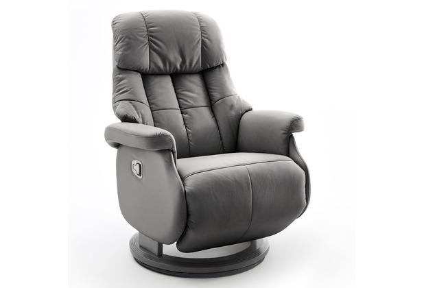 MCA furniture Calgary Comfort Relaxsessel mit Fußstütze, taupe/schwarz