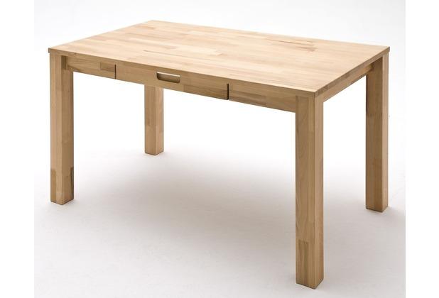 MCA furniture Cento Desk Schreibtisch mit 1 Schubkasten, Kernbuche