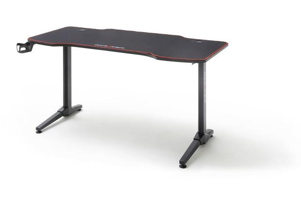 MCA furniture DX-Racer Gaming Schreibtisch schwarz 3 140 x 75 x 65 cm