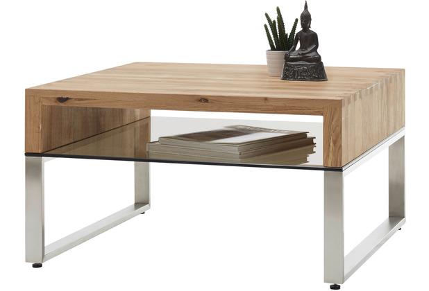 MCA furniture Hilary Couchtisch Asteiche 70 x 39 x 70 cm